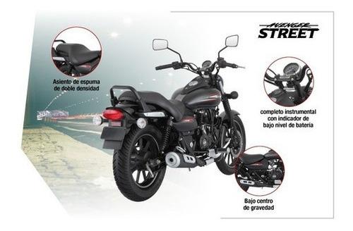 rouser avenger street 220cc - motozuni  v. del pino
