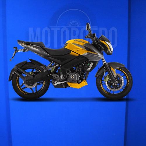 rouser bajaj ns 200 -  motor 4 válvulas dts-i - colores 2018