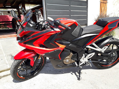 rouser rs 200  impecable igual a 0km