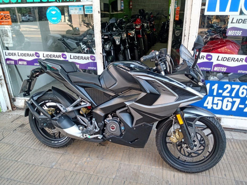 rouser rs 200 negra abs 2019 impecable alfamotos  1127622372