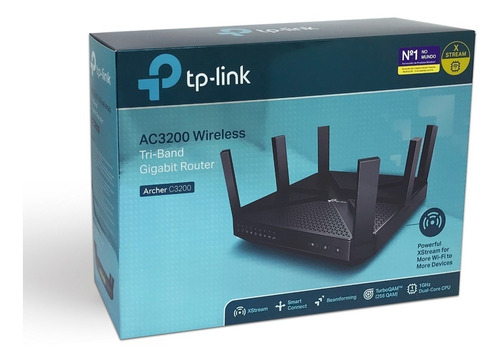 routeador tp-link archer c5400 ac5400 tri-band gigabit