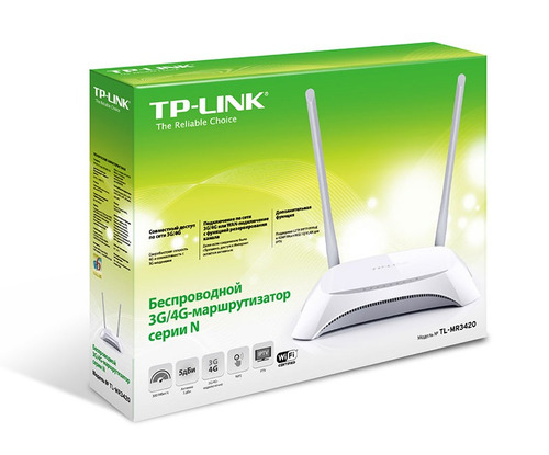 router 3g / 4g wan inalambrico 300mbps tp-link tl-mr3420