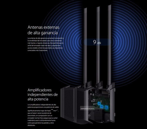 router alta potencia rompe muros 450mbps tl-wr941hp tp link