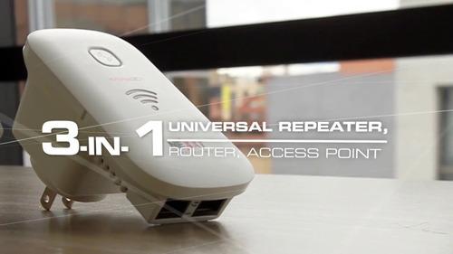 router amplificador extensor de señal wifi nexxt kronos 301