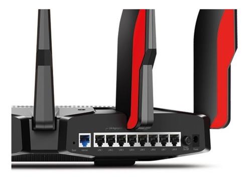 router archer ac5400 mu-mimo wifi 8 antenas gaming alexa