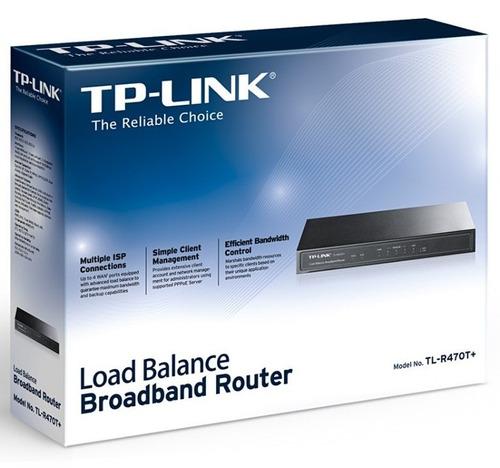 router balance carga tp-link tl-r470t+ 4 wan envio