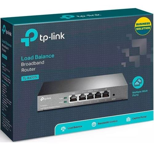 router balanceador de carga tp-link tl-r470t 3pts 5 puertos