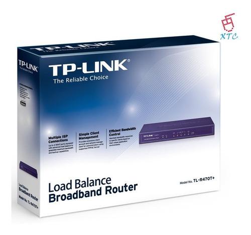 router banda ancha balanceador de carga tl-r470t+ xtc
