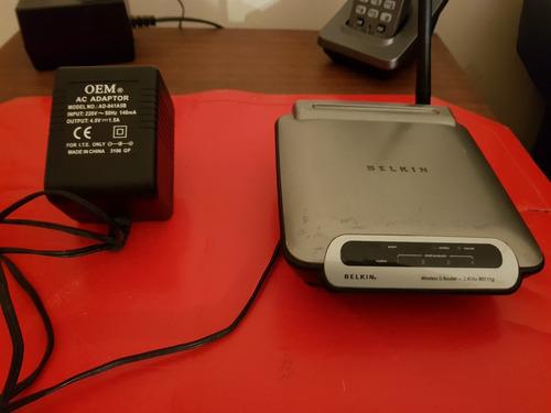 router belkin funcionamiento perfecto