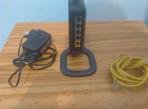 router belkin modelo f6d4230-4 + cable de red de regalo