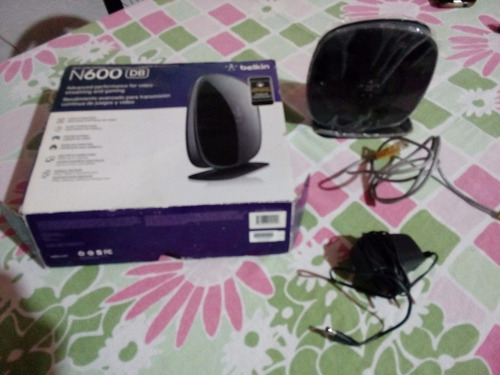 router belkin n600