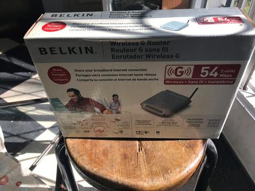 router belkin wireless