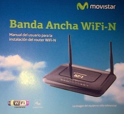 router catálogo instalación router movistar