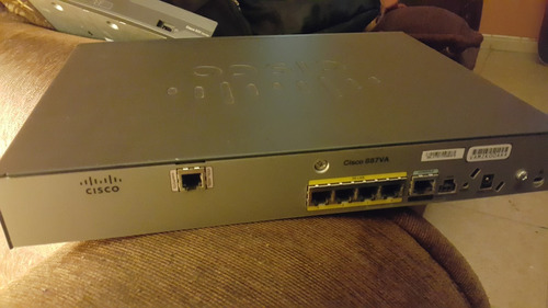 router cisco 887va adsl especial empresas vpn full seguridad