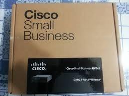 router cisco gigabit rv042g vpn dual wan 100/1000 4 puertos