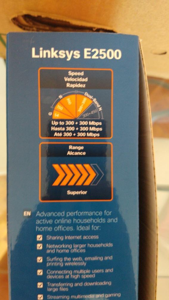 Router Cisco Linksys E2500