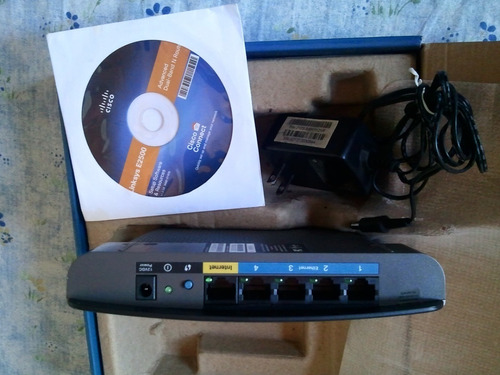 router cisco linksys e2500 en perfecto estado.