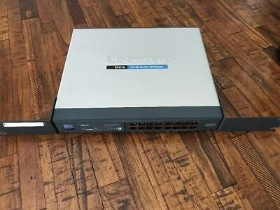 router cisco linksys rv016 7 wan firewall vpn excelente gara