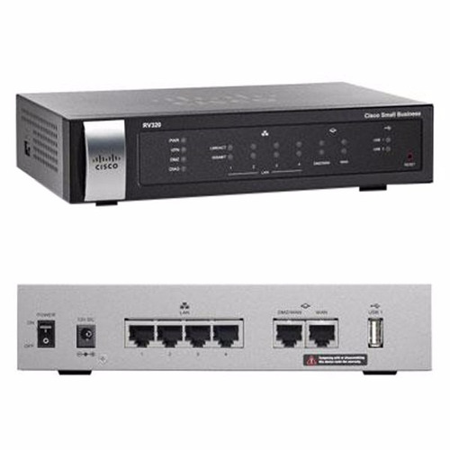 router cisco rv320, alambrico 3g/4g, dual gigabit, promocion