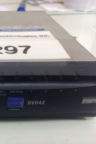 router cisco®vpn con wan dual rv042