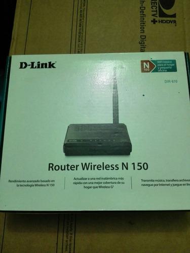 router d-link dir-610 con poco uso