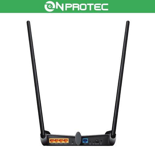 router de alta potencia rompemuro 300mbps tp link tl-wr841hp