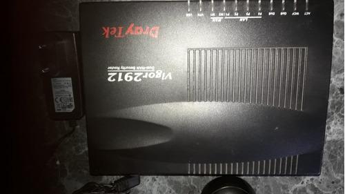 router draytek vigor 2912 dual wan vpn-voip-balance de carga