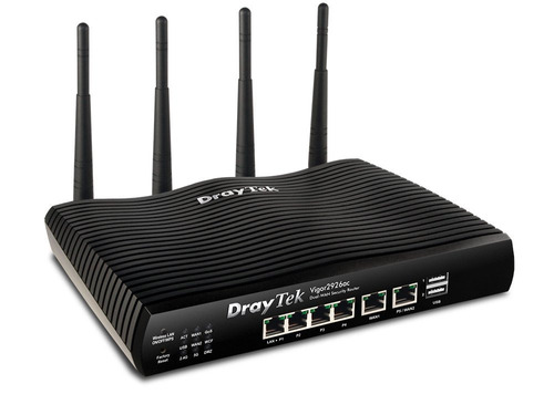 router draytek vigor 2926ac dual wan gigalan vpn 4g usb wifi
