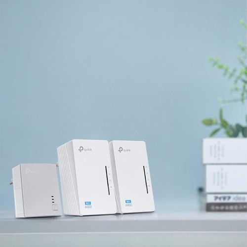 router extensor repetidor kit 3 piezas wifi tp-link plc