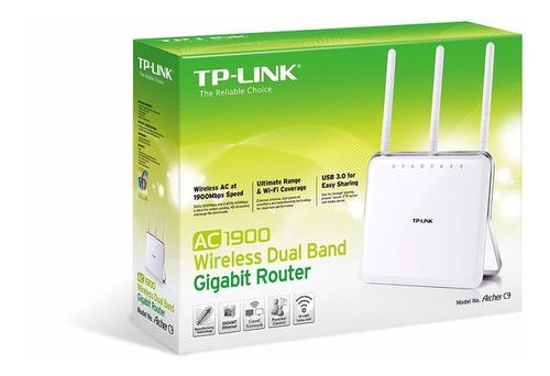 router gigabit banda dual inalambri ac1900 archer c9 tp-link