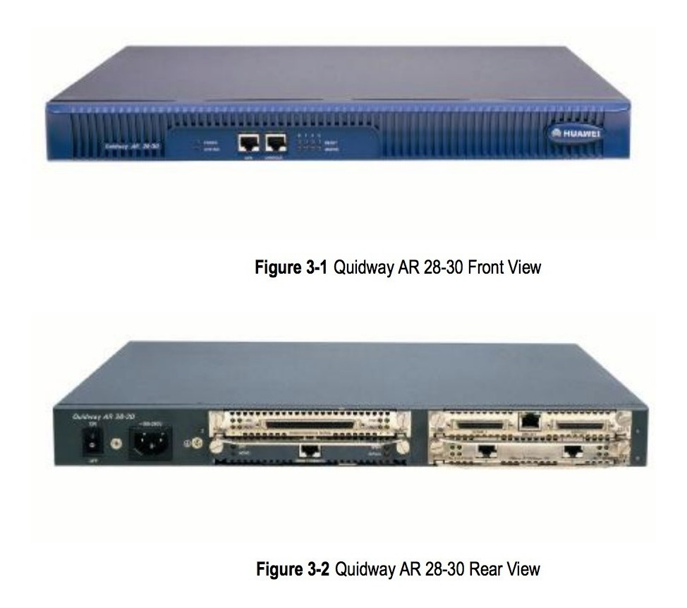 Router Huawei Quidway Ar 28-30-ac