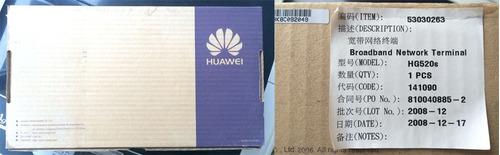 router huawei wireless 4 puertos lan usado buena condicion