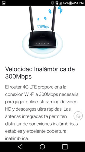 router inalambrico 4g sim ,bitel tp-link