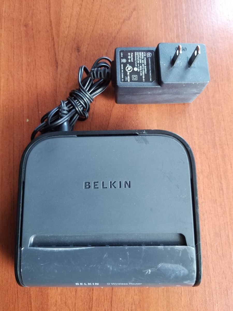 AC adapter FOR BELKIN F5D7234-4 network router MT12-Y090100-A1 Power cord