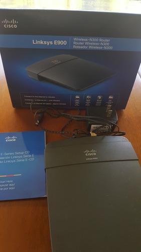 router inalambrico cisco linksys  e900