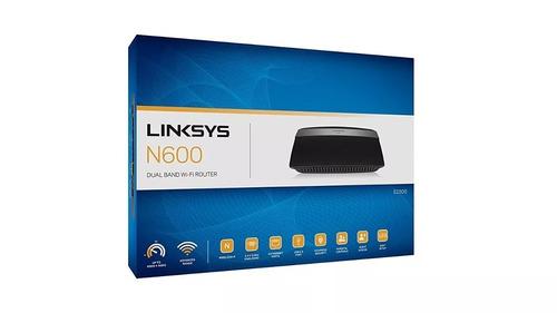 router inalámbrico de doble banda n600 linksys e2500