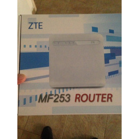 Router Inalámbrico Fijo Zte Digitel Mf253