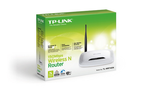 router inalámbrico n a150mbps tp-link tl-wr740n 5dbi