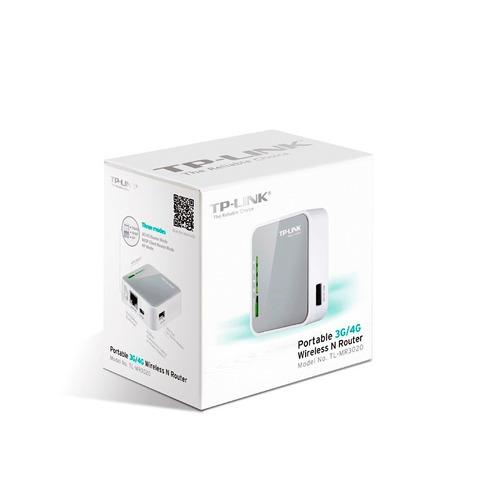 router inalámbrico n portátil 3g/4g tl-mr3020 tp link