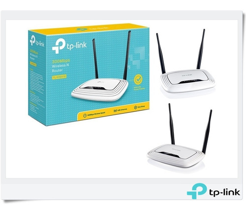 router inalambrico n300mbps tl-wr841n 2 antenas wifi 2.4ghz