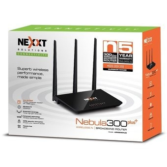 router inalámbrico nebula 300plus n 300mbps