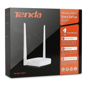 Router Inalámbrico Tenda N301 Bajo Costo, 300 Mbps.