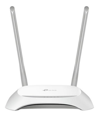 router inalámbrico tp link 850n 2 ant 5dbi fijas simil 840n