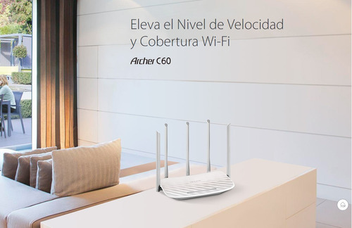 router inalambrico tp-link archer c60 ac1350 dual band