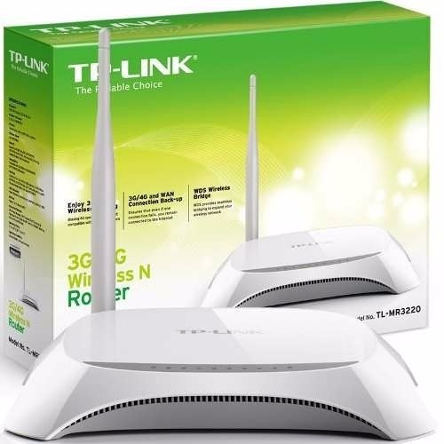 router inalambrico tp-link tl-mr3420 usb 3g/4g 300mbps 5dbi