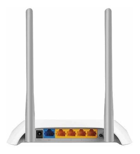 router inalámbrico tp-link  tl wr-840n 300 mbps 2 antenas.