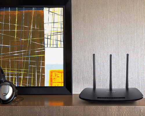 router inalámbrico tp-link  tl-wr940n 450mbps 5dbi 3 antenas