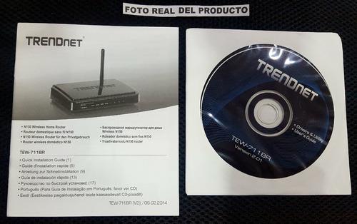 router inalambrico trendnet wifi lan wan internet red rj45