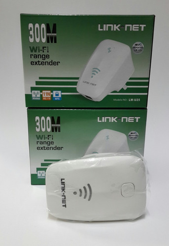 router inalambrico,300mbps, link net repetidor, antena 2.5 d