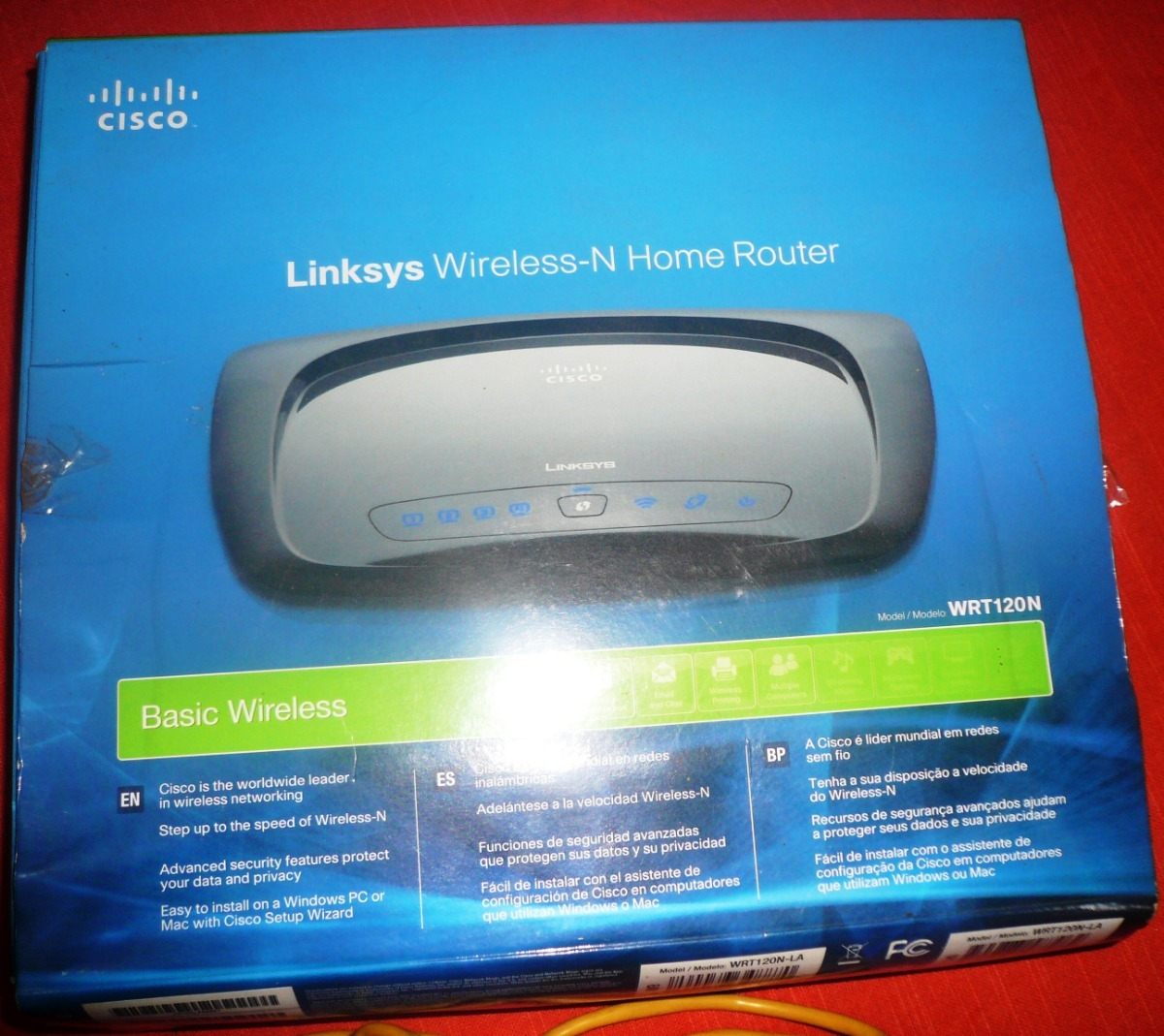 Results For How To Configure Cisco Linksys Wrt120n E1000 Wireless N Router Modelo Wrt 120n Cargando Zoom